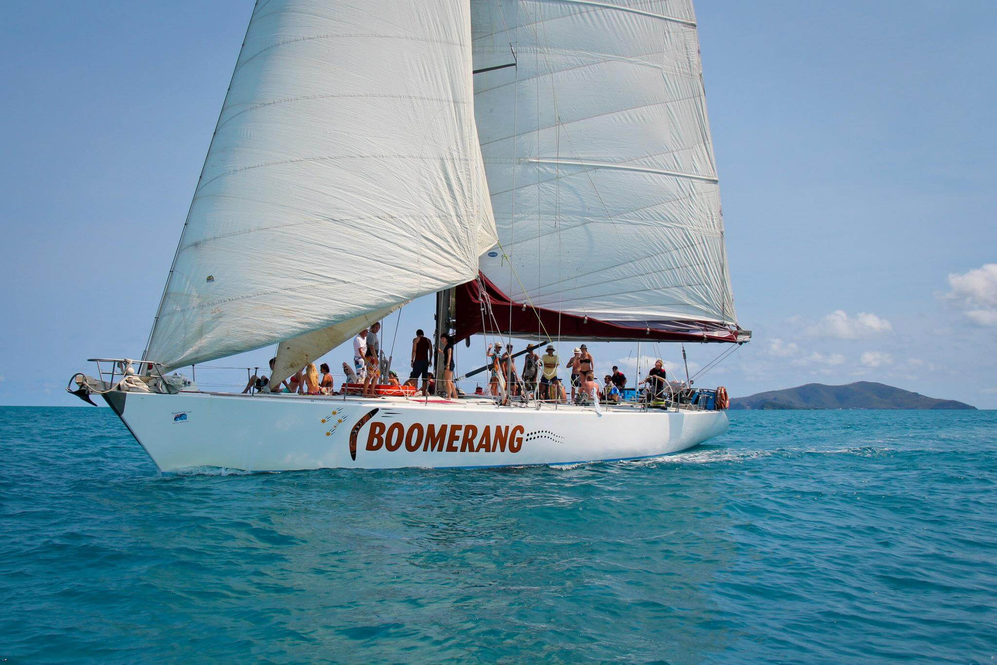 Boomerang Overnight Tour - Whitsundays - Underway
