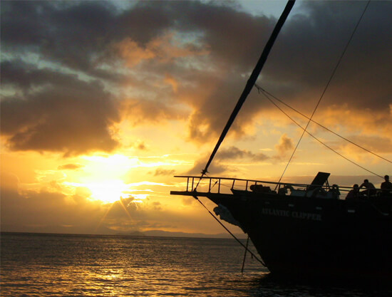 Atlantic Clipper Overnight Tour - Whitsundays - sunset