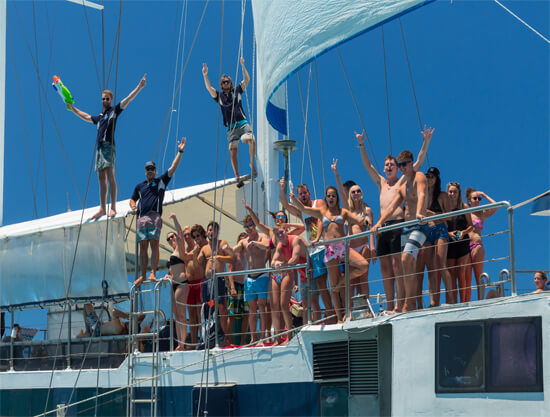 Atlantic Clipper Overnight Tour - Whitsundays - guests