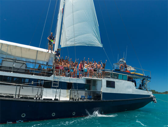 Atlantic Clipper Overnight Tour - Whitsundays - clipper