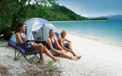 Scamper Camping Transfer -Whitsunday Islands Camping - Scamper - friends