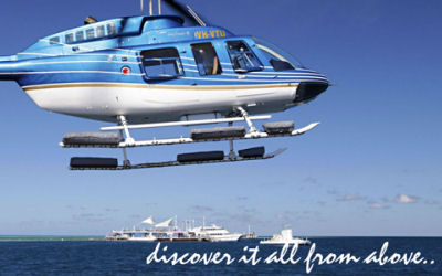 Cruise/Fly to the reef -Whitsundays - helicopter