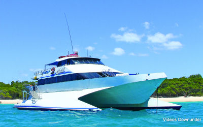 Reefstar - Whitsunday Island tour - boat