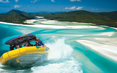 Ocean Rafting-Whitsunday Sailing Day Tour - Power turn