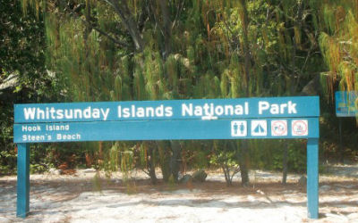 Whitsunday Islands Camping - Scamper - national park