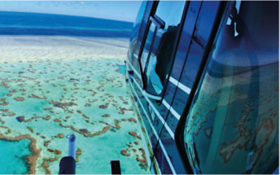 Helicopter Fly Cruise the Great Barrier Reef