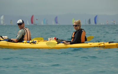 Whitsunday Salty dog - Kayak Tours - duo