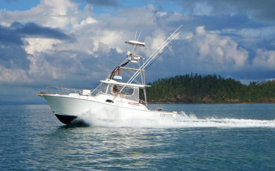 Whitsunday Fishing - Sea fever - underway