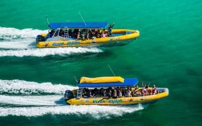 Ocean Rafting-Whitsunday Sailing Day Tour - side by side