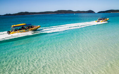Ocean Rafting-Whitsunday Sailing Day Tour - whitehaven beach