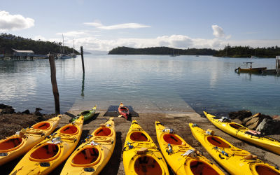Whitsunday Salty dog - Kayak Tours - slipway