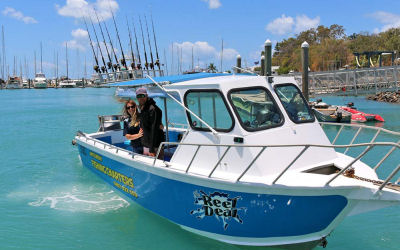 Whitsunday FIshing charters - boat