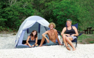 Whitsunday Islands Camping - Scamper - tent