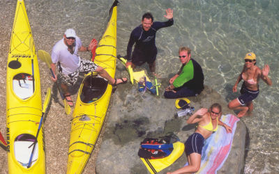 Whitsunday Salty dog - Kayak Tours - Waive
