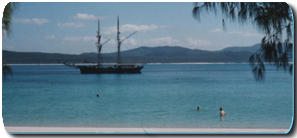 Solway Lass - Whitsunday Islands Overnight tour - moored