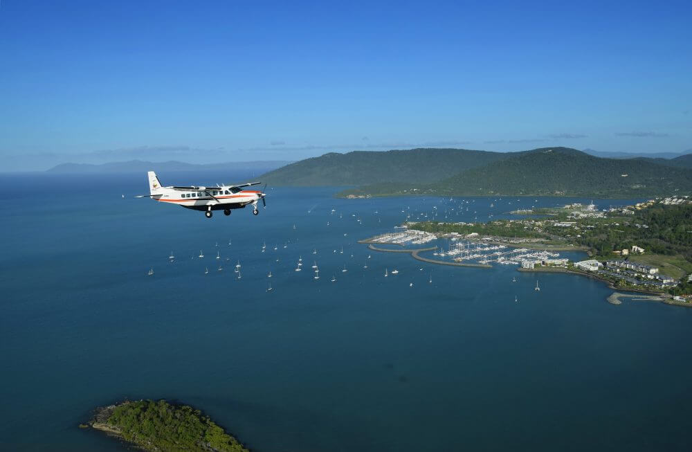 GSL Aviation Reef and Island Scenic Flight - Airlie Beach