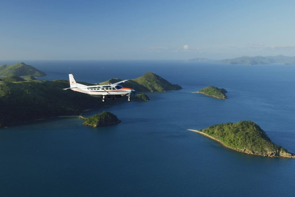 GSL Aviation Reef and Island Scenic Flight - Whitsunday Islands