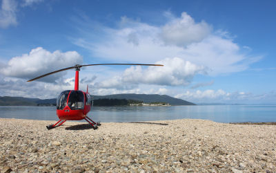 Helicopter tour - whitsunday helicopter experience