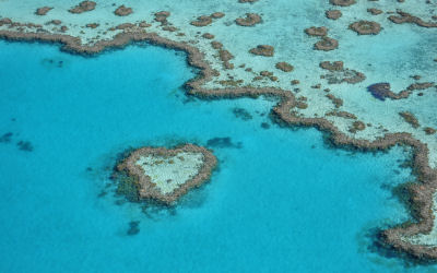 Helicopter tour - heart reef