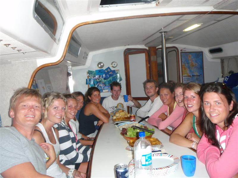 Prima Overnight tour - Whtsunday Islands - galley