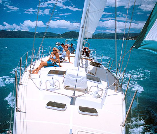 Prima-overnight sailing- deck