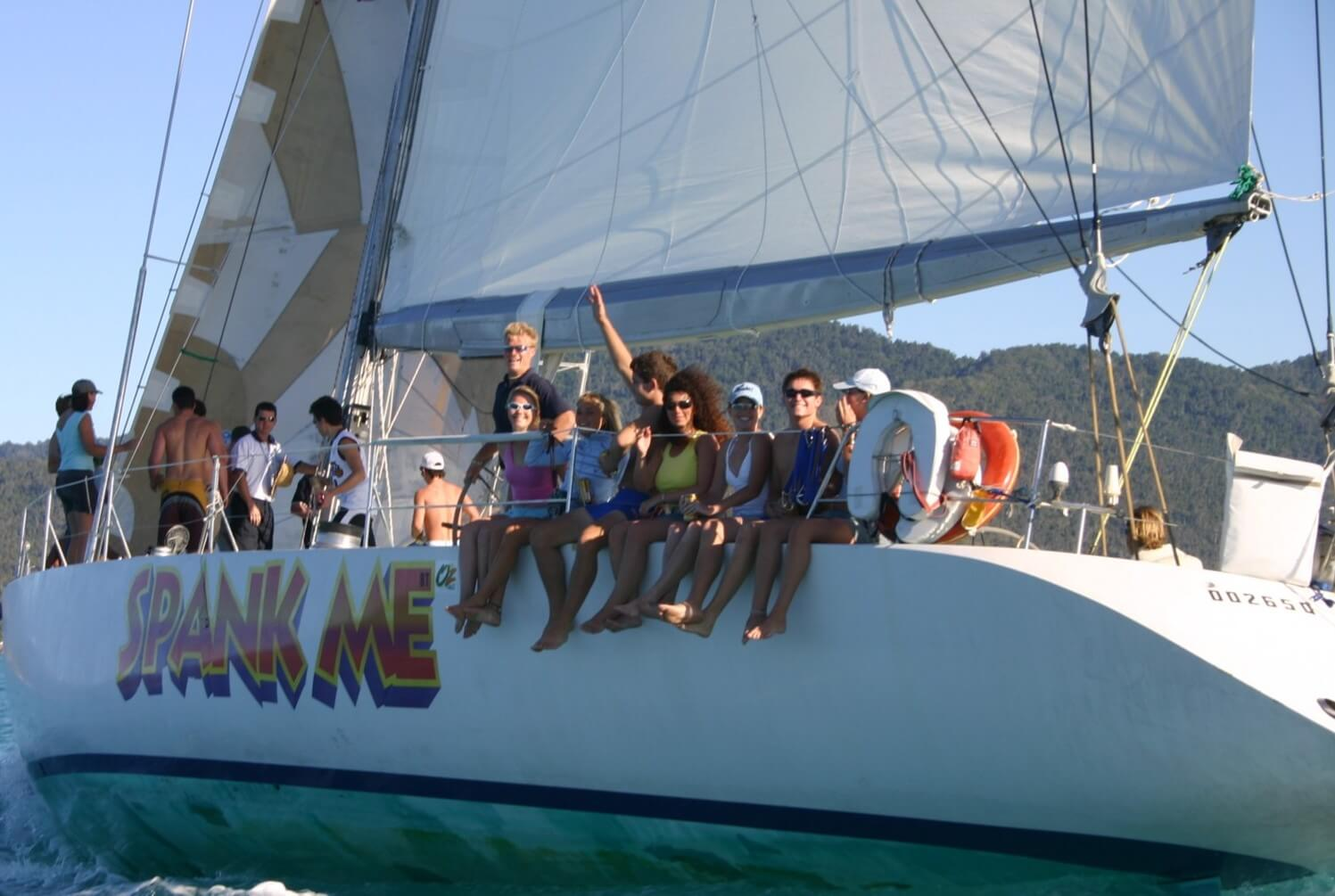 Spank Me Whitsundays Overnight Tour | SailingWhitsundays com