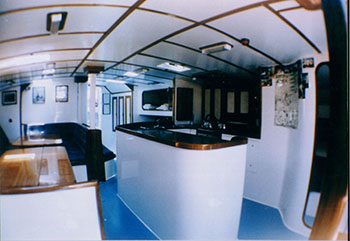 siska- overnight sailing tour - galley