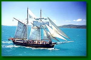 Solway Lass - Whitsunday Islands Overnight tour - happy sailing