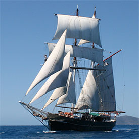 solway lass- overnight sailing tour - tall ship
