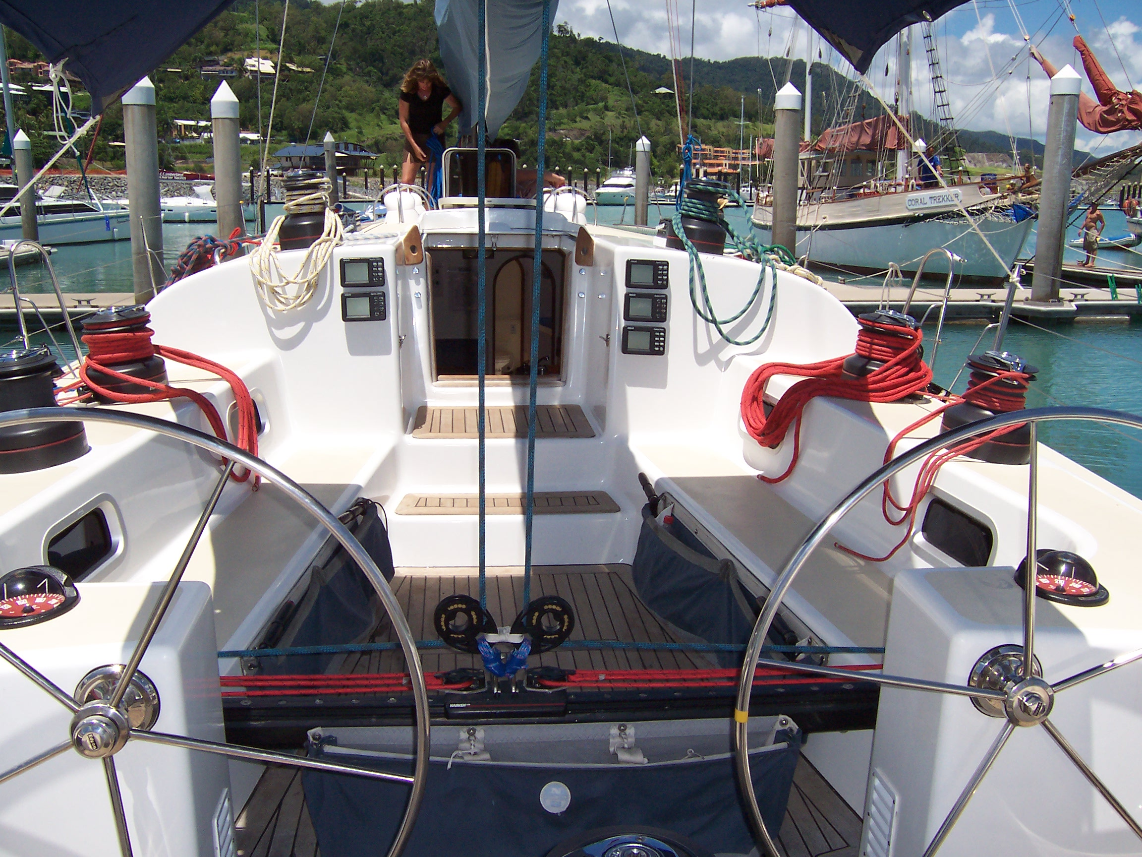 Eureke II 2 days 1 night Overnight Tour - Whitsunday Islands - Cockpit
