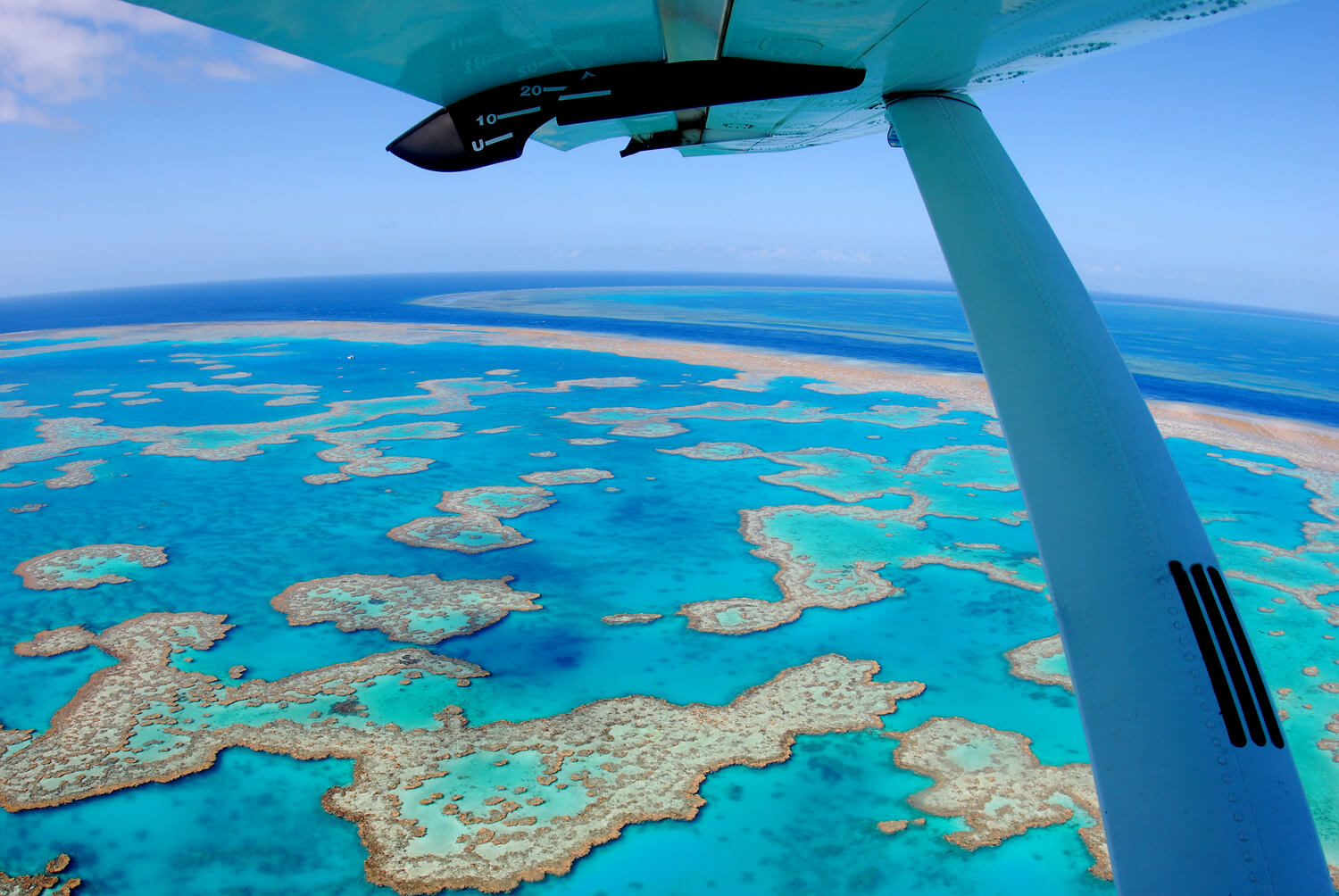 Air Whitsunday Reef & Whitehaven Scenic Flight - Hardy reef