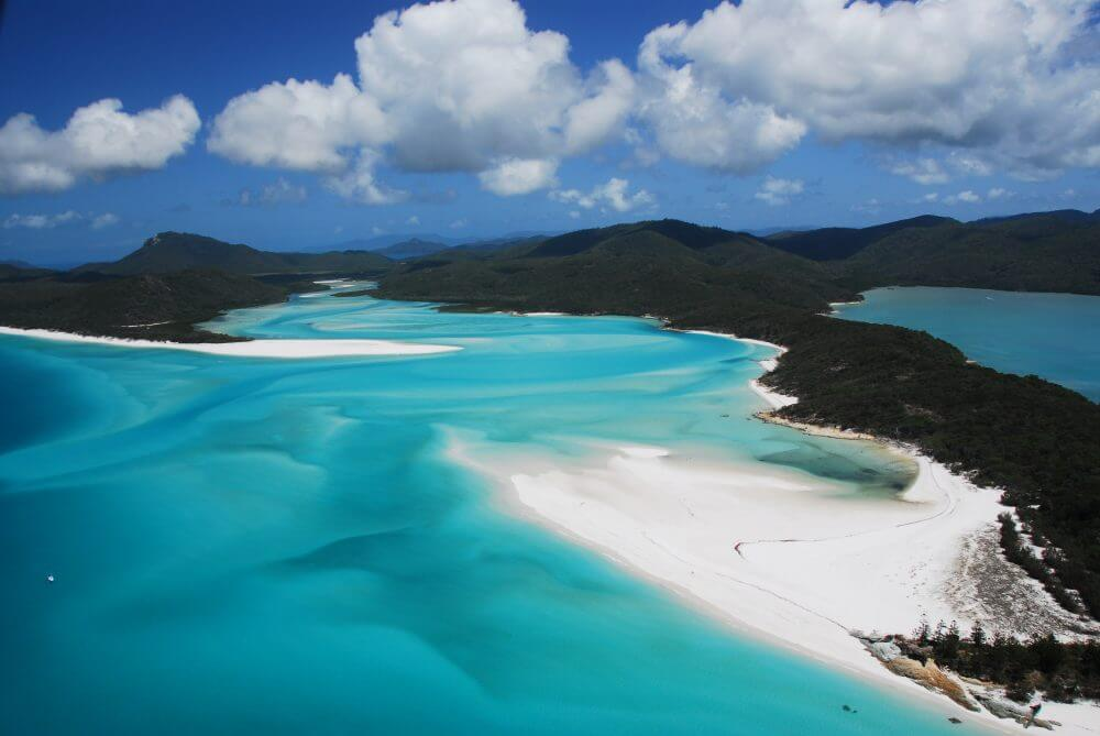 Air Whitsunday Reef & Whitehaven Scenic Flight - Hill Inlet