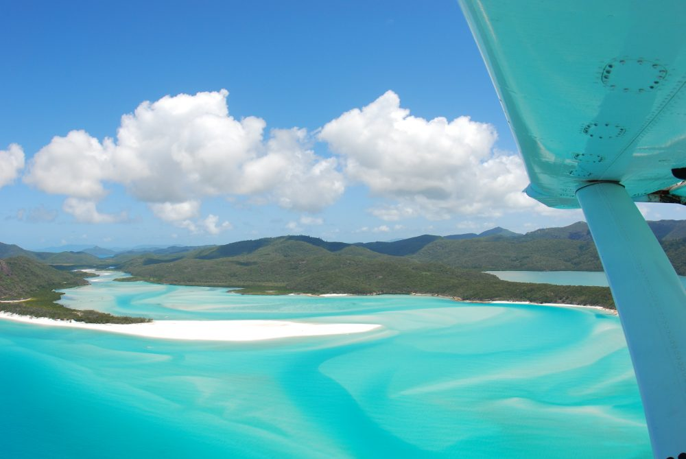 Whitehaven Beach Seaplane Experience - hill inlet