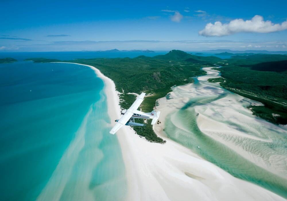 Air Whitsunday Reef & Whitehaven Scenic Flight - Whitehaven Beach