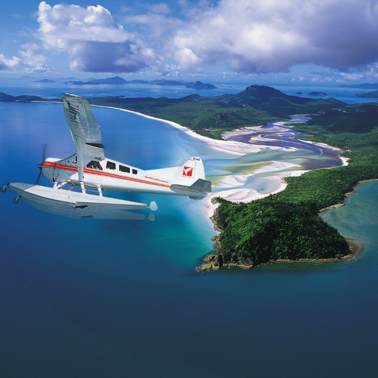 Seaplane Panorama Express Tour - in flight