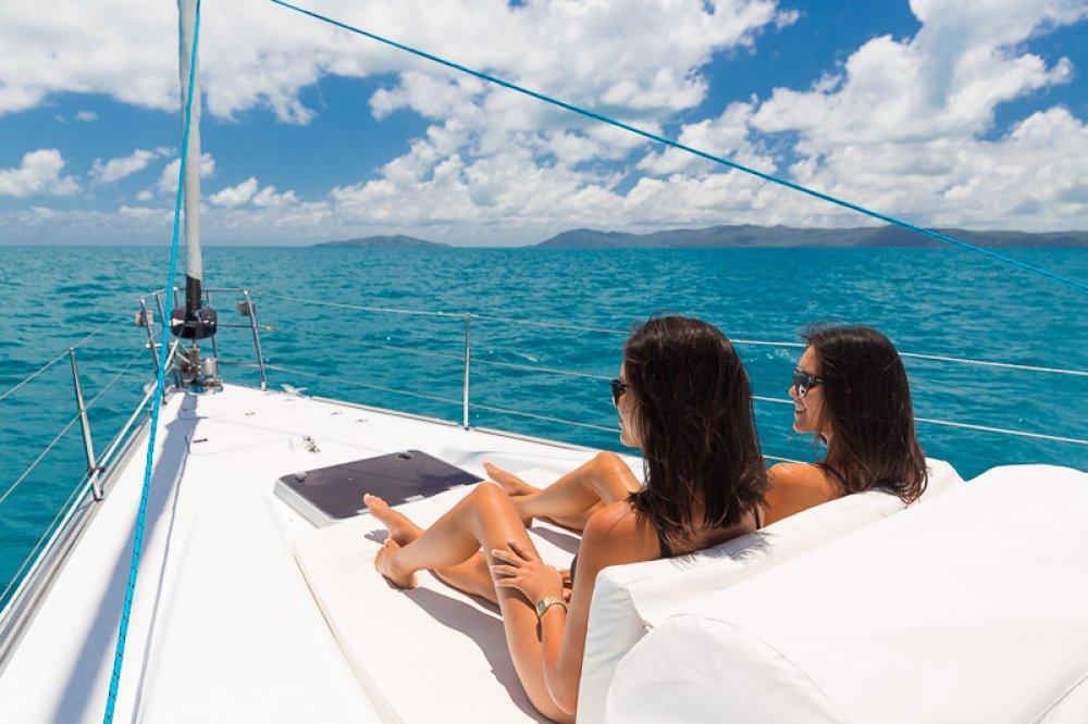 Whitsunday Bliss Overnight Tour - Whitsundays - foredeck