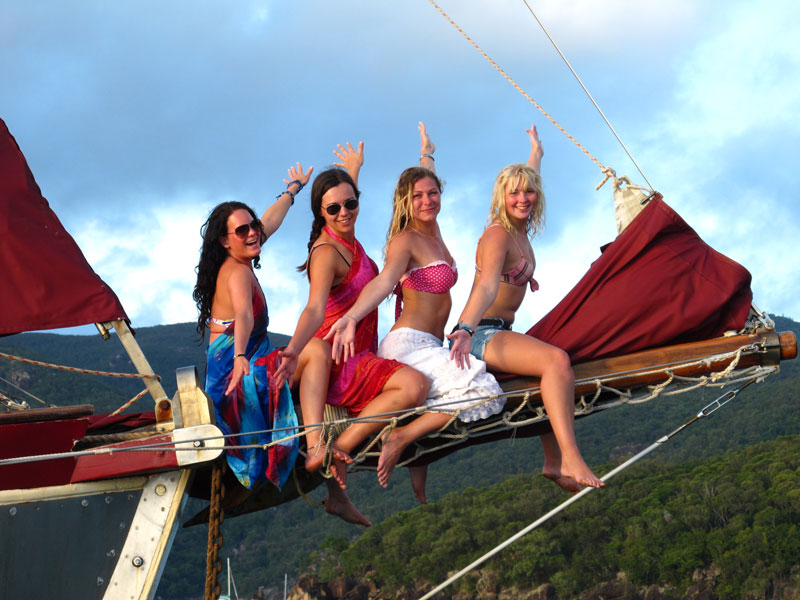 Summertime Overnight Tour - Whitsundays - a bit of fun