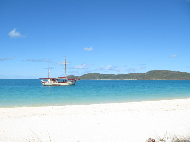 Summertime Overnight Tour - Whitsundays - from the beach