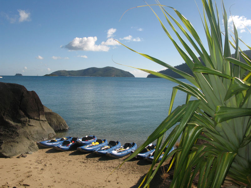 Summertime Overnight Tour - Whitsundays - kayaks