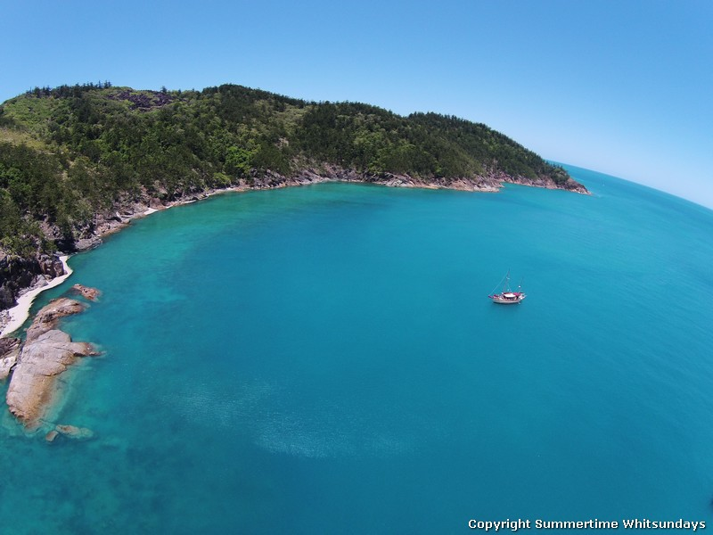 Summertime Overnight Tour - Whitsundays - cove